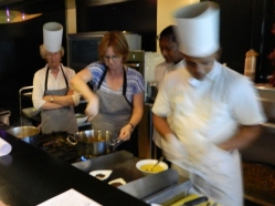 Cooking at Earls Regency