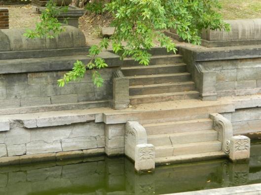 Anuradhapura temple baths