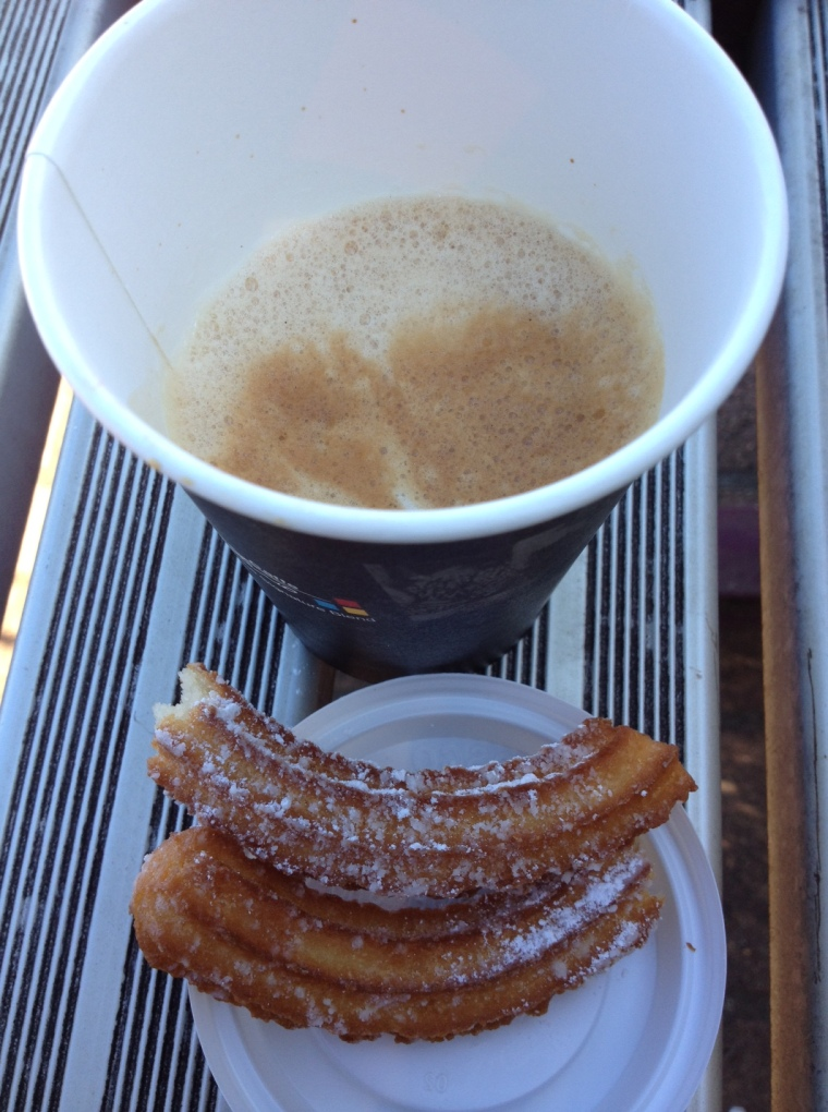 Breakfast Churros