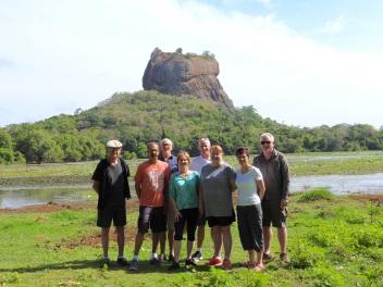 Pre-climb group photo