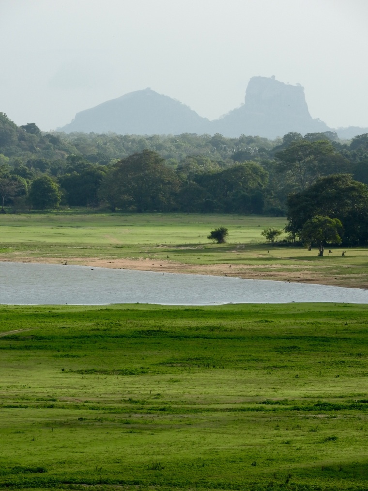 Sigiriya viewed from Kandalama