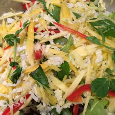 Mix the salad