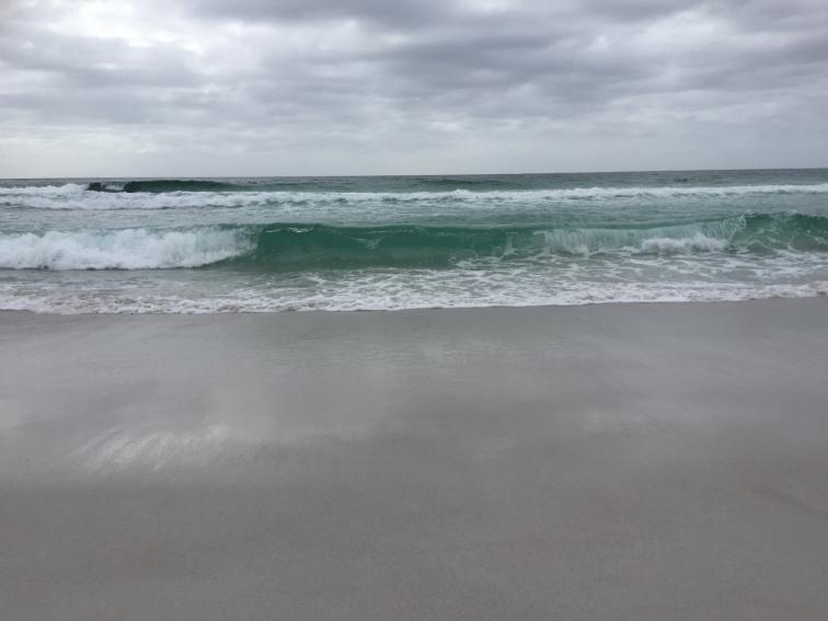 Dusk on Friendly Beaches